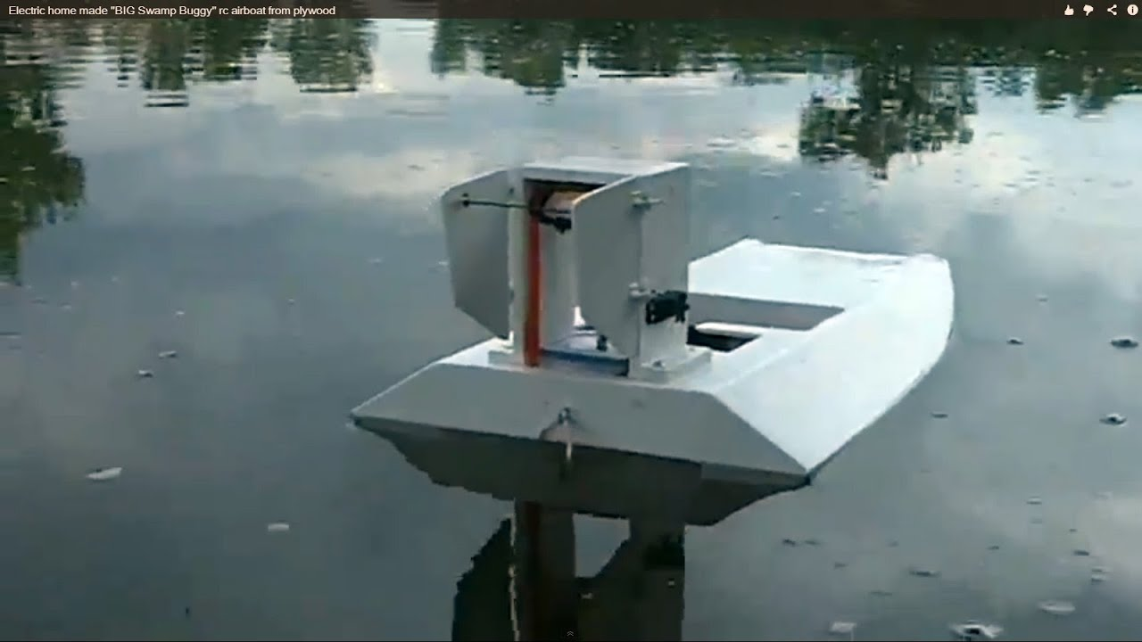 Detail Homemade Rc Airboat Plans Sendo