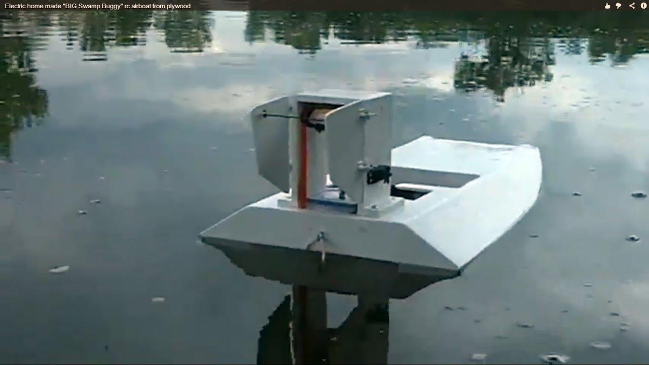 Swamp Boat Plans Rc