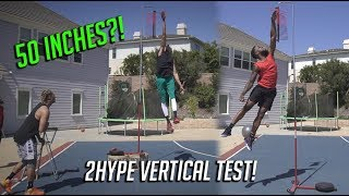 Who Has the Highest Vertical in 2HYPE?
