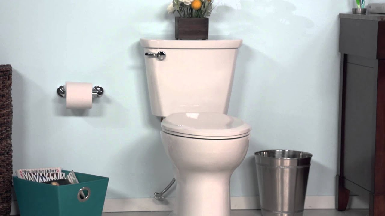 Cadet Pro Toilet By American Standard Youtube