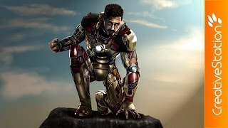 Iron Man – Speed painting | CreativeStation