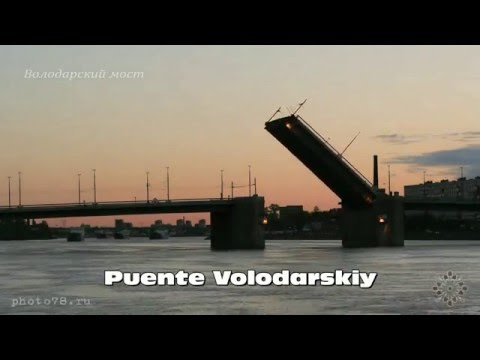 video Tour puentes y canales San Petersburgo Nocturno