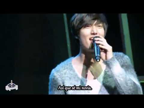Say Yes - Lee Min Ho (subtitulada en español)