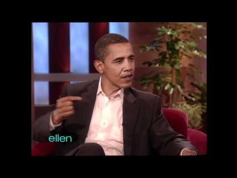 Ellen Meets President Obama