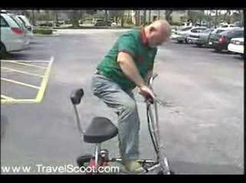 Lightweight Electric Mobility Scooter Travelscoot Youtube