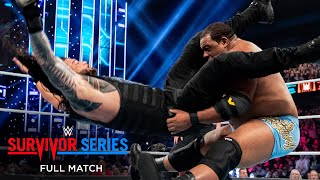FULL MATCH- NXT vs. Raw vs. SmackDown - Survivor Series Elimination Match: Survivor Series 2019