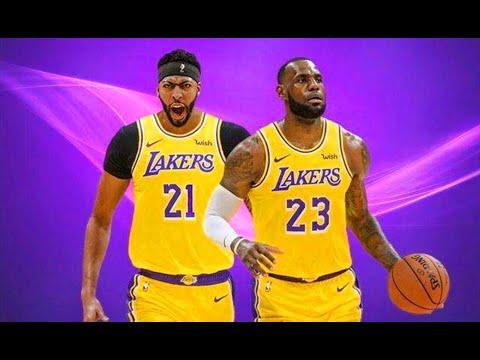 【布鲁】浓眉终于加盟湖人!詹姆斯和浓眉联手挑战猛龙队实测!NBA2K19