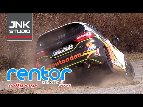 Best of Rentor Racing Rally Cup Test IV. 2021 (action & mistakes)