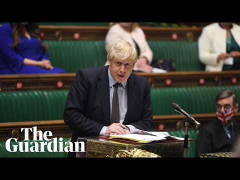 PMQs: Boris Johnson faces questions over government's pandemic exit strategy – watch live