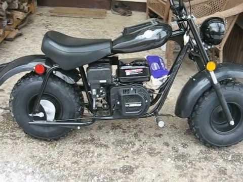 Baja Warrior Minibike Mb200 Youtube