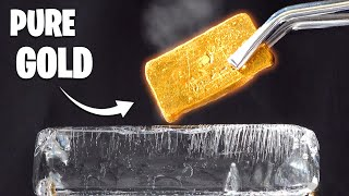 ICE V 1000° GOLD -  Casting Scrap to Pure Gold
