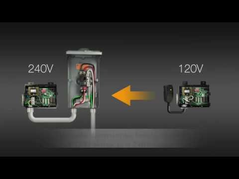 Convert VS100 120V to 240V - Version 1