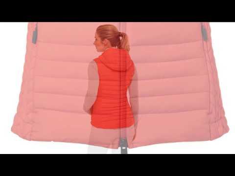 Kjus Macuna Insulation Womens Vest in Fiery Red