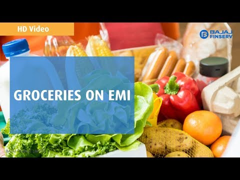 Groceries on EMI | Bajaj Finserv EMI Network | HD