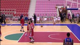 Scrimmage Between Harlem Globetrotters and North Korean Basketball Team