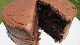 "HERSHEY'S ""PERFECTLY CHOCOLATE"" CAKE - How to make a moist CHOCOLATE CAKE Recipe"