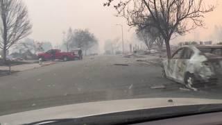 Tubbs Lane Fire - Coffey Park - Santa Rosa