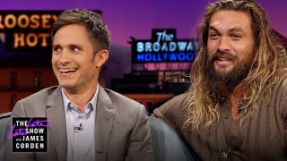 Jason Momoa Has Gael Garcia Bernal & James Feeling Smaller