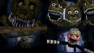 FNaF Custom Jumpscares COMPILATION | FNAF 4 | WayTwo