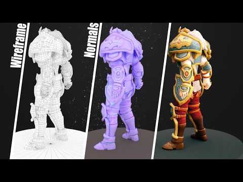 3D Character Modelling - MAGES Student