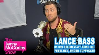 """Lance Bass on """"The Boy Band Con: The Lou Pearlman Story"""" and RHOBH Puppygate"""