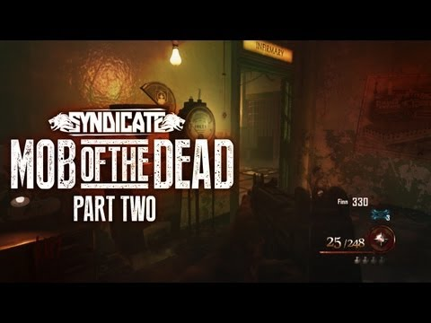 Black Ops 2 Zombies 'Mob Of The Dead' UZI & Deadshot Daiquiri! Gameplay Live W/Syndicate (Part 2) - Smashpipe Games