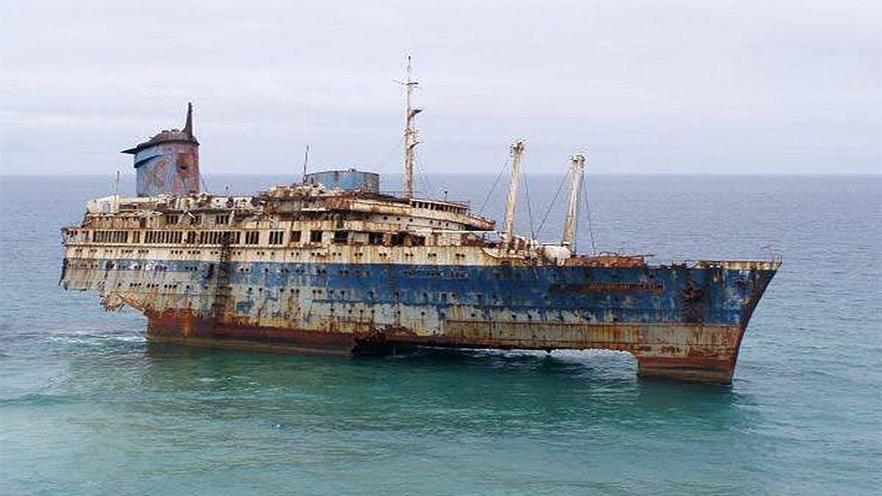 TOP 15 Amazing Abandoned Ships