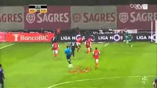 هدف كريستيان تيو الوحيد في مباراة بورتو - سبورتينغ براغا ( 1-0 ) - الدوري البرتغالي .