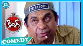 Brahmanandam Back To Back Funny Scenes - King Movie || Telugu