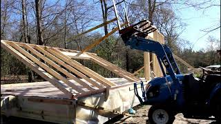 Standing Walls | Off Grid Cabin Build | Episode 4
