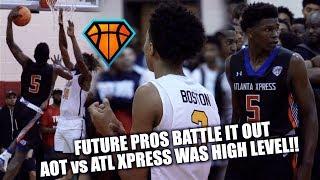 FUTURE PROS Anthony Edwards & Brandon 'BJ' Boston BATTLE IT OUT at #IHTOC!! | AOT vs ATL Xpress