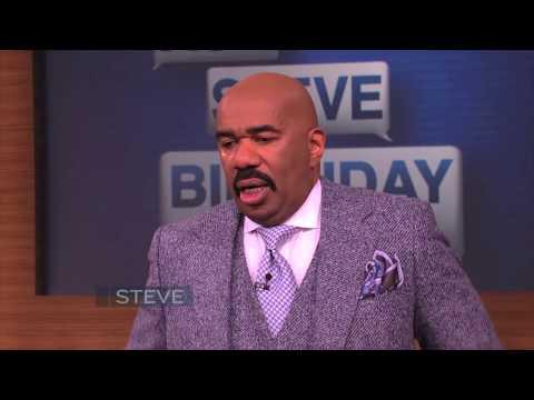 A Birthday Surprise That Left Steve Harvey In Tears