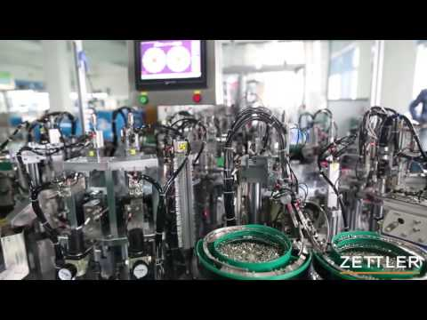 Zettler Controls Thermostats production line HD
