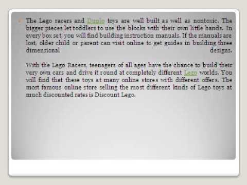 Lego   Lego Duplo Games   Lego Racers