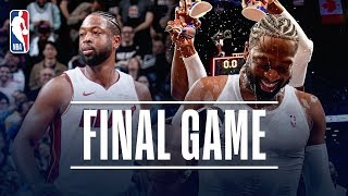 Dwyane Wade Records A TRIPLE-DOUBLE In Last NBA Game | April 10, 2019