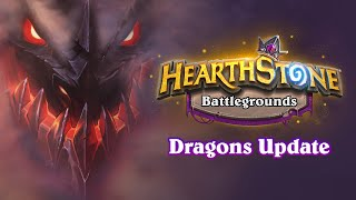Dragons join the battle in Hearthstone: Battlegrounds