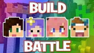 Minecraft Build Battle w/ Stacy, Lizzy, and Joey!