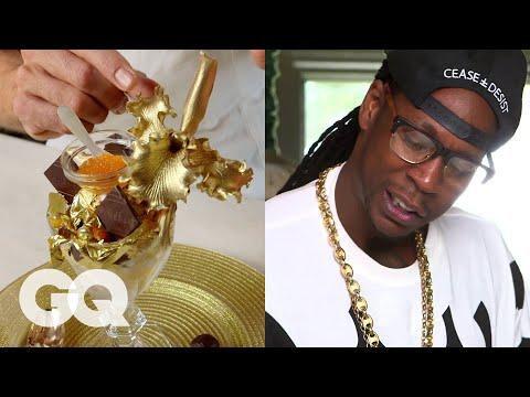 2 Chainz Eats a $1K Ice Cream Sundae   Most Expensivest Shit   GQ