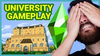 The Sims 4 University GAMEPLAY Overview!