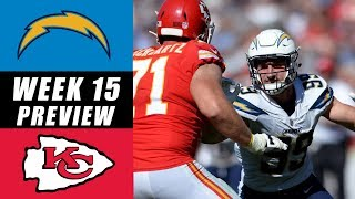 LA Chargers vs Kansas City Chiefs: Week 15 Predictions