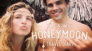 Honeymoon Travel Diary: Kate and Joey in Bora Bora
