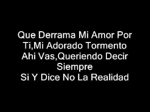 Mi Unica Verdad - Jorge Celedon (letra)