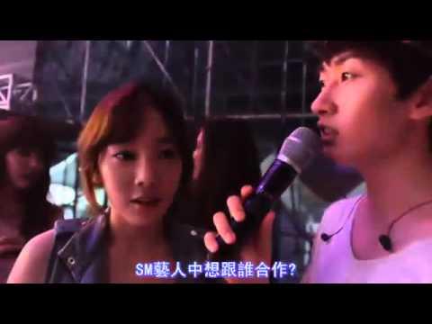 銀赫不想跟泰妍跳性感舞蹈 TaeNy的哀嚎 @2015 SMT DVD花絮