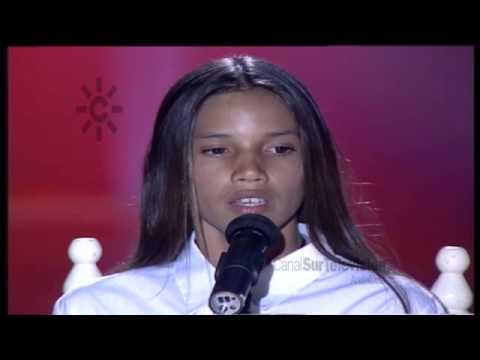 India Martínez canta con doce años