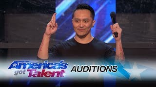 Demian Aditya: Escape Artist Risks His Life During AGT Audition - America's Got Talent 2017
