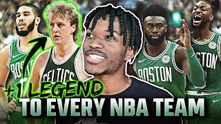 I ADDED ONE LEGEND TO EVERY NBA TEAM IN NBA 2K21 NEXT-GEN