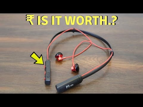 video pTron Tangent Pro Magnetic in-Ear Wireless Bluetooth Headphones: A Complete Review