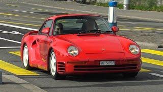 Supercars in Zürich Vol.253 - Ave SVJ, Porsche959, 488Pista, 812, F8Tributo, 600LT, F12, GT3, LP640!