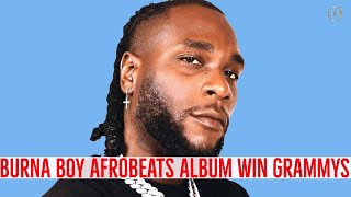 This Is How BURNA BOY & WIZKID Reacted After Bagging First Ever Grammys Award