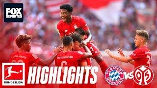 Bayern Munich 6-1 Mainz 05   HIGHLIGHTS   Jornada 3   Bundesliga